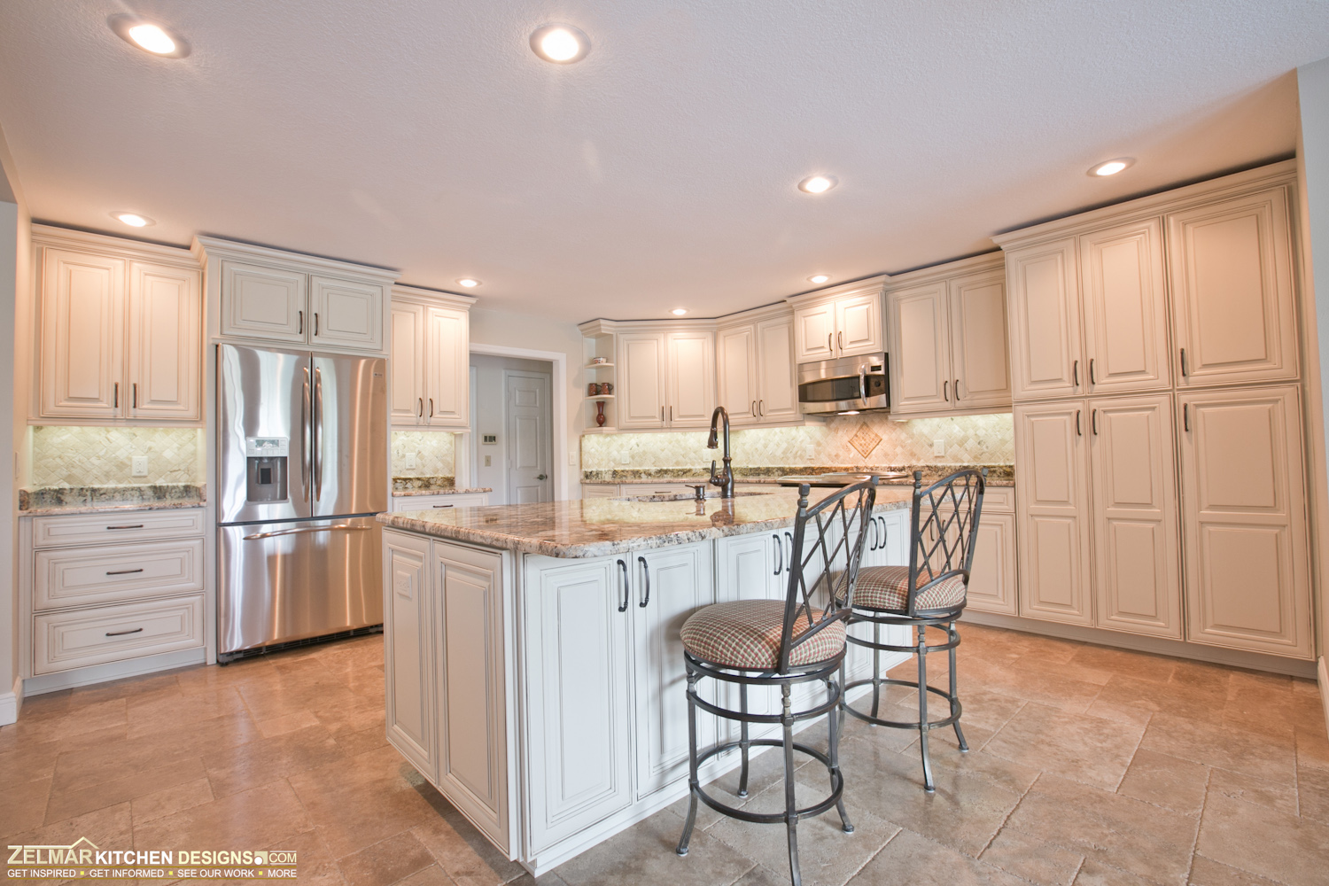 Waypoint Living Spaces Zelmar Kitchen Designs More