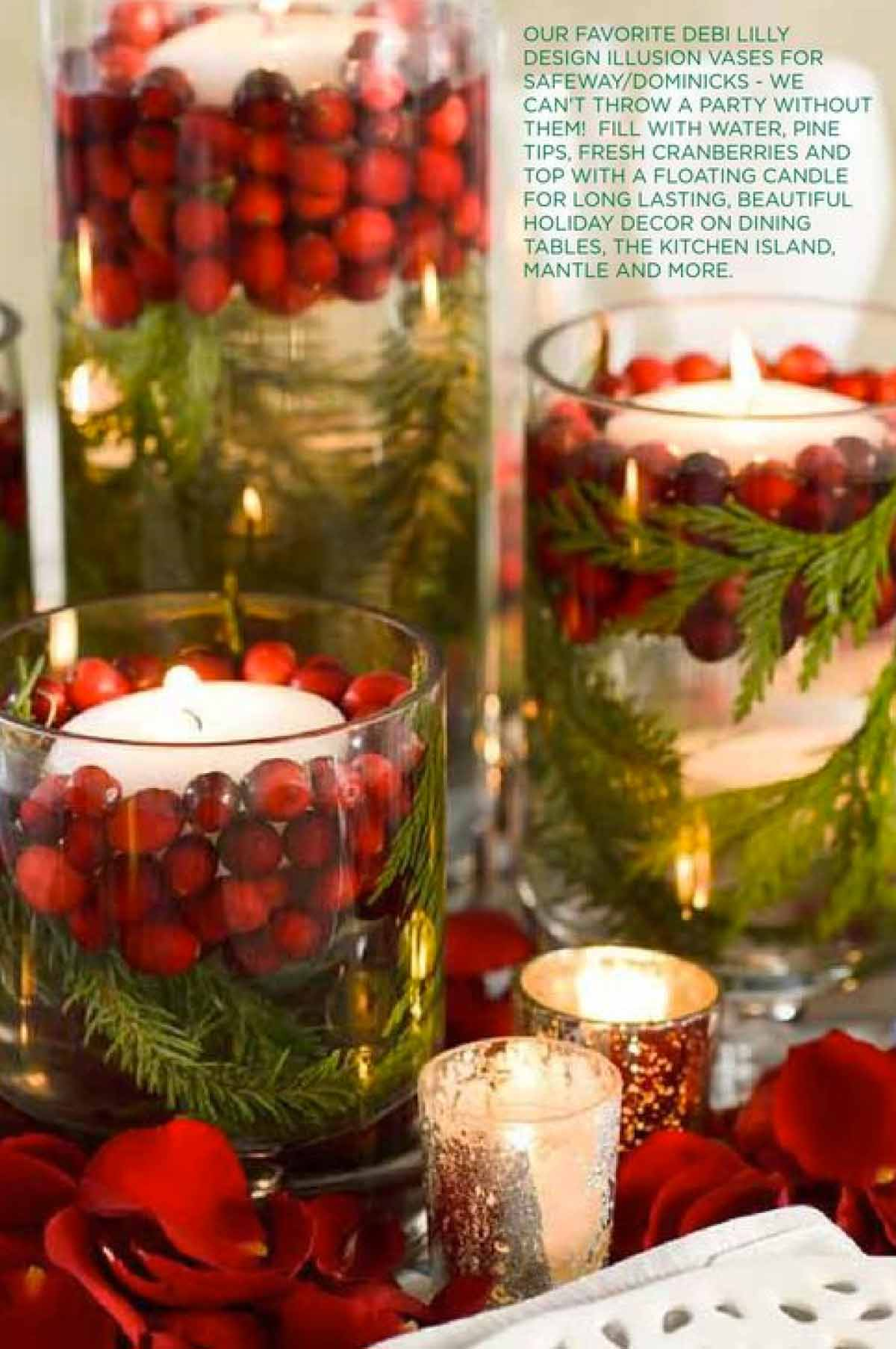 Design insights for Christmas candles and ornaments