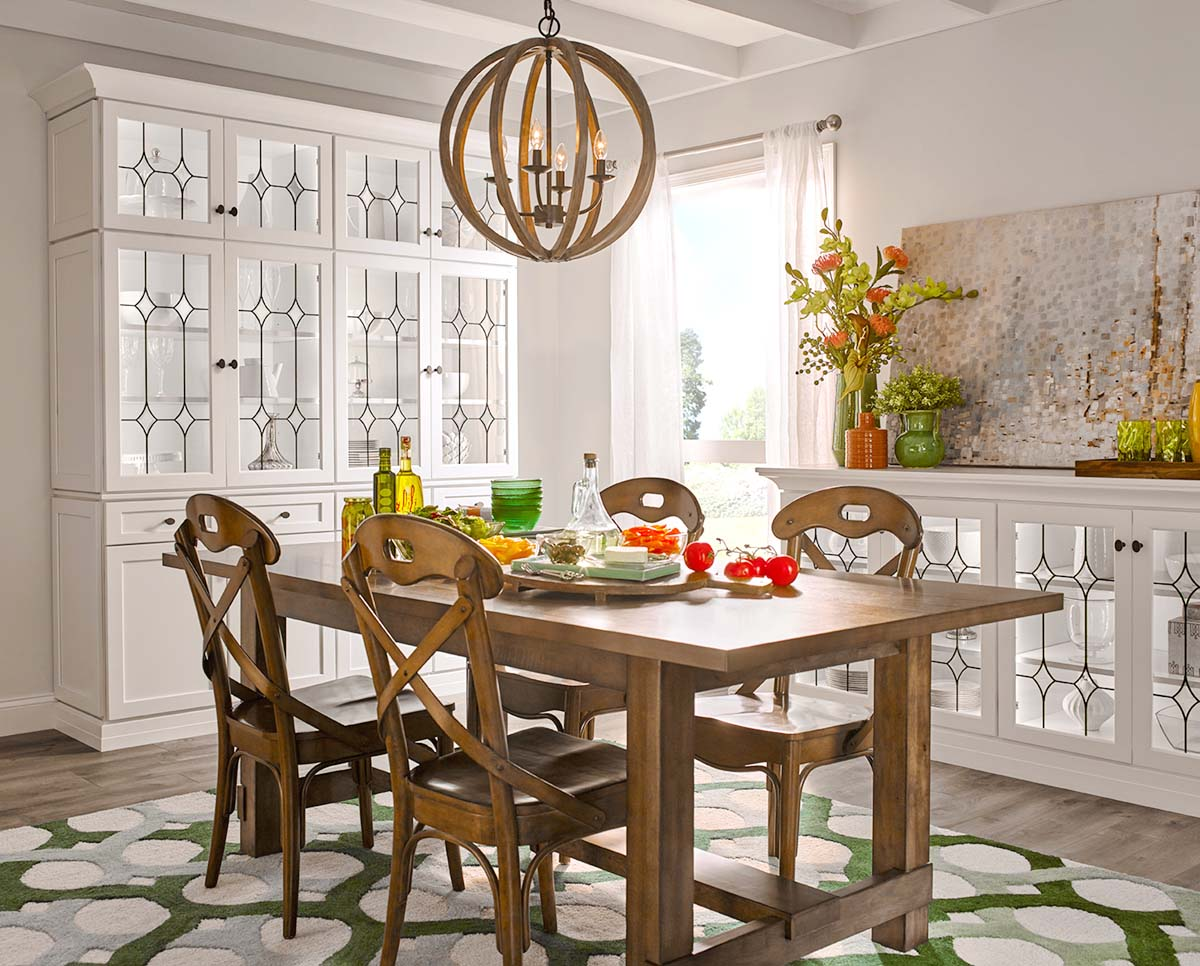 These Unique Furniture Pieces, Built From Waypoint® Cabinets, Are The  Perfect Opportunity To Use Lass To Express Your Unique Style. Antique Afton  Glass Door ...