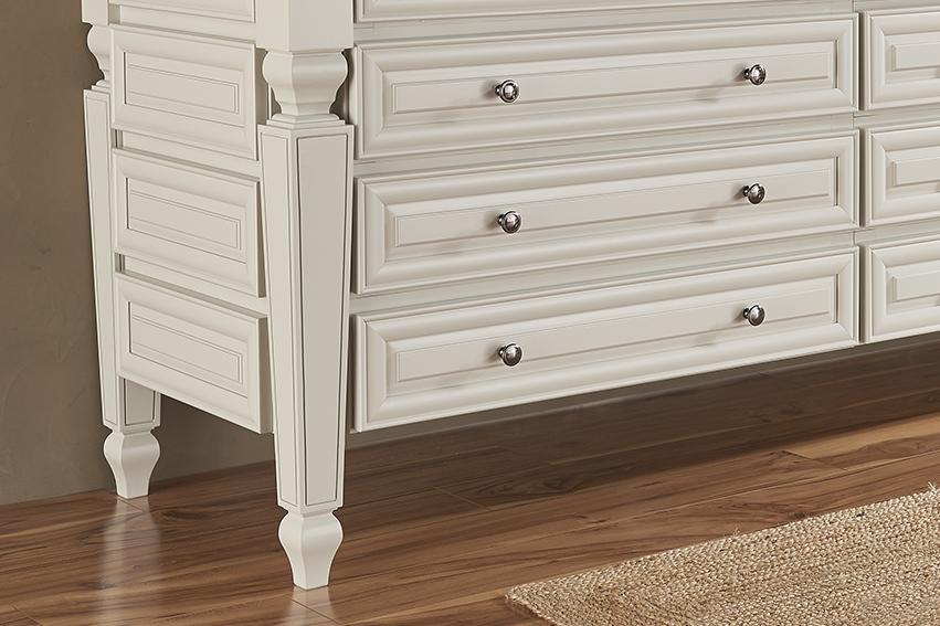 The Orlean Decorative Legs Make This Bathroom Vanity Look Like A Custom Piece Of Furniture
