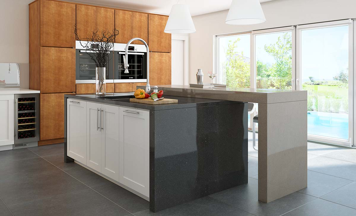You can easily accomplish your unique style by mixing Waypoint® finishes to create that match made in heaven.