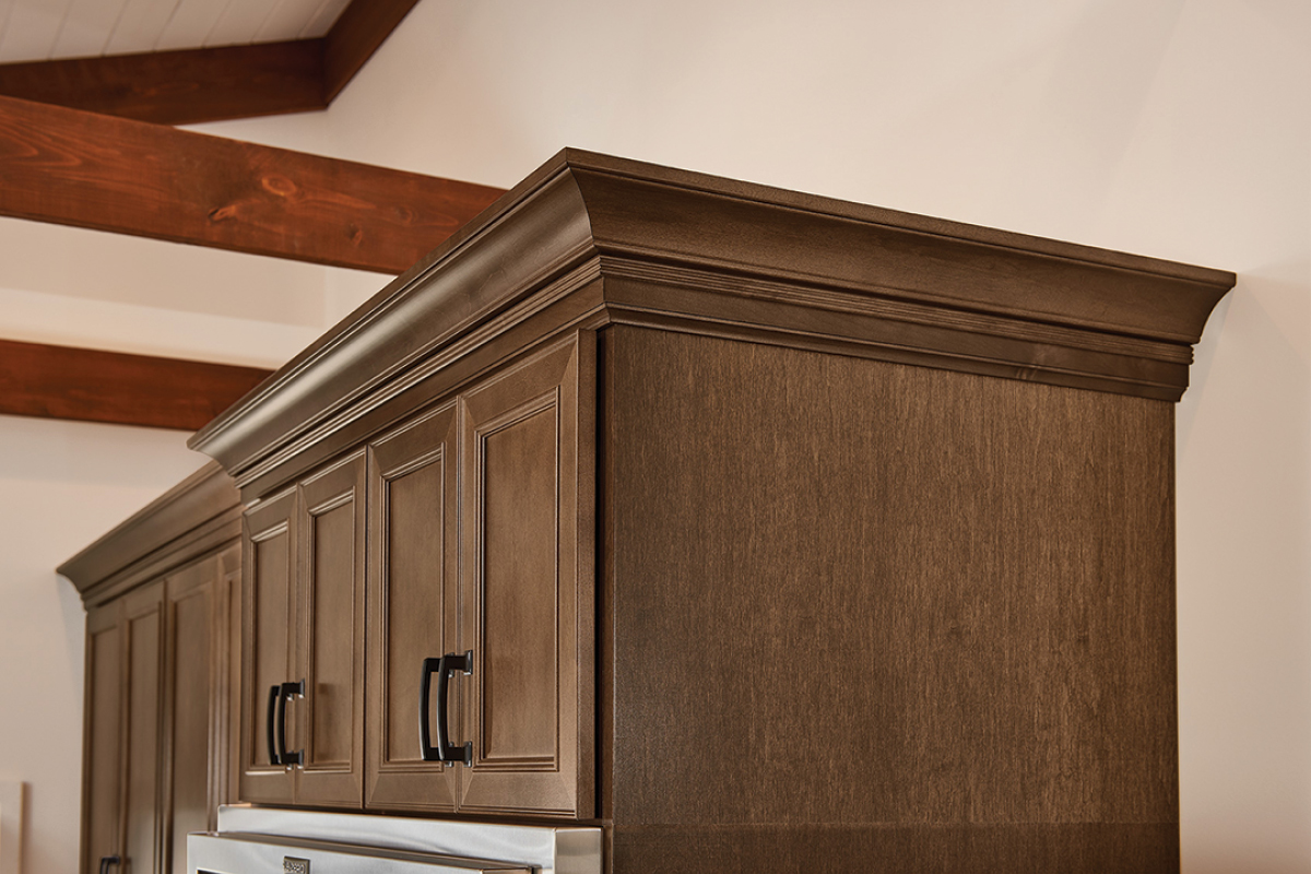 Decorative Large Cove, Ogee Pilaster & Ogee Molding