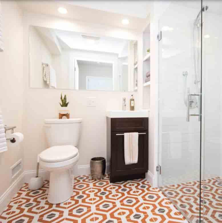 410 Painted Linen Cypress Design