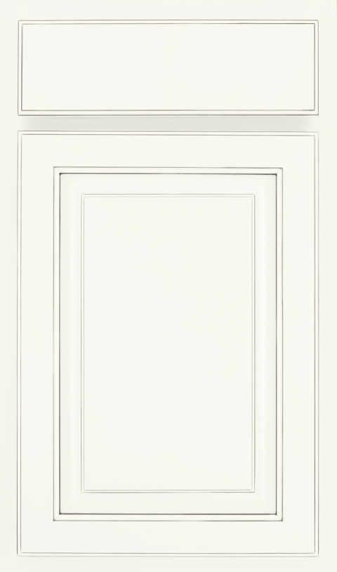 607 Painted Pewter Glaze Cabinet Door Waypoint Living Spaces
