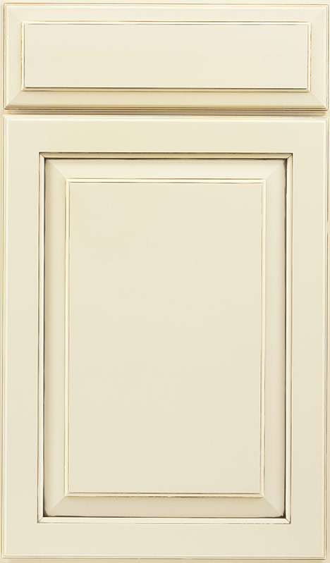 610 Painted Hazelnut Glaze Cabinet Door Waypoint Living