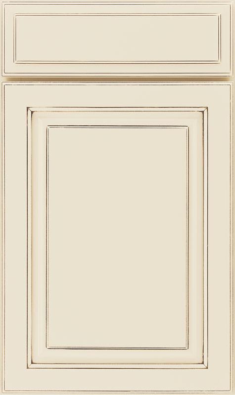 661 Painted Hazelnut Glaze Cabinet Door Waypoint Living