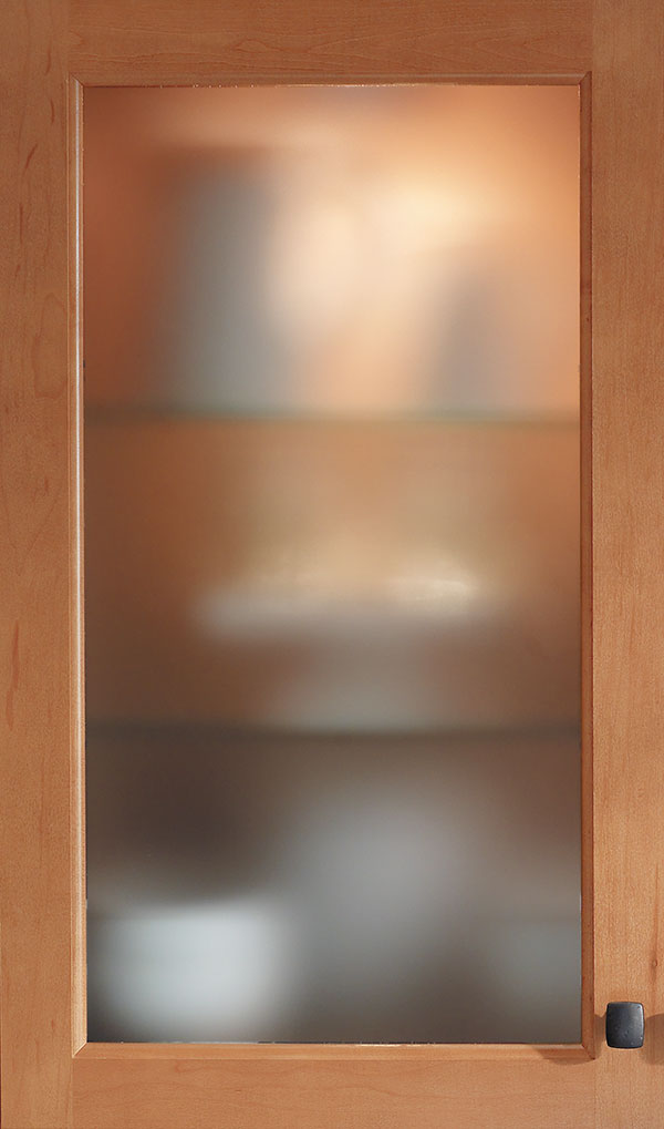 frosted glass inserts for kitchen cabinet doors waypoint living spaces exactly what you had in mind 15657