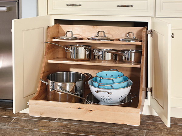 Base Pot And Pan Organizer