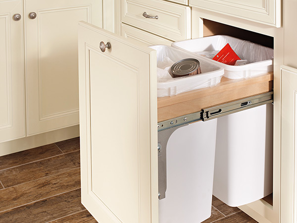 Base Waste Basket Cabinet & Waypoint Living Spaces | Exactly What You Had In Mind