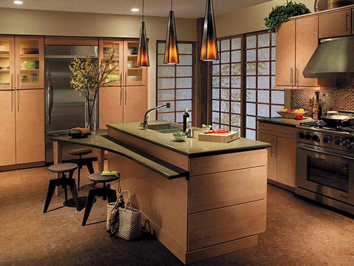 Waypoint living spaces exactly what you had in mind for Zen style kitchen designs