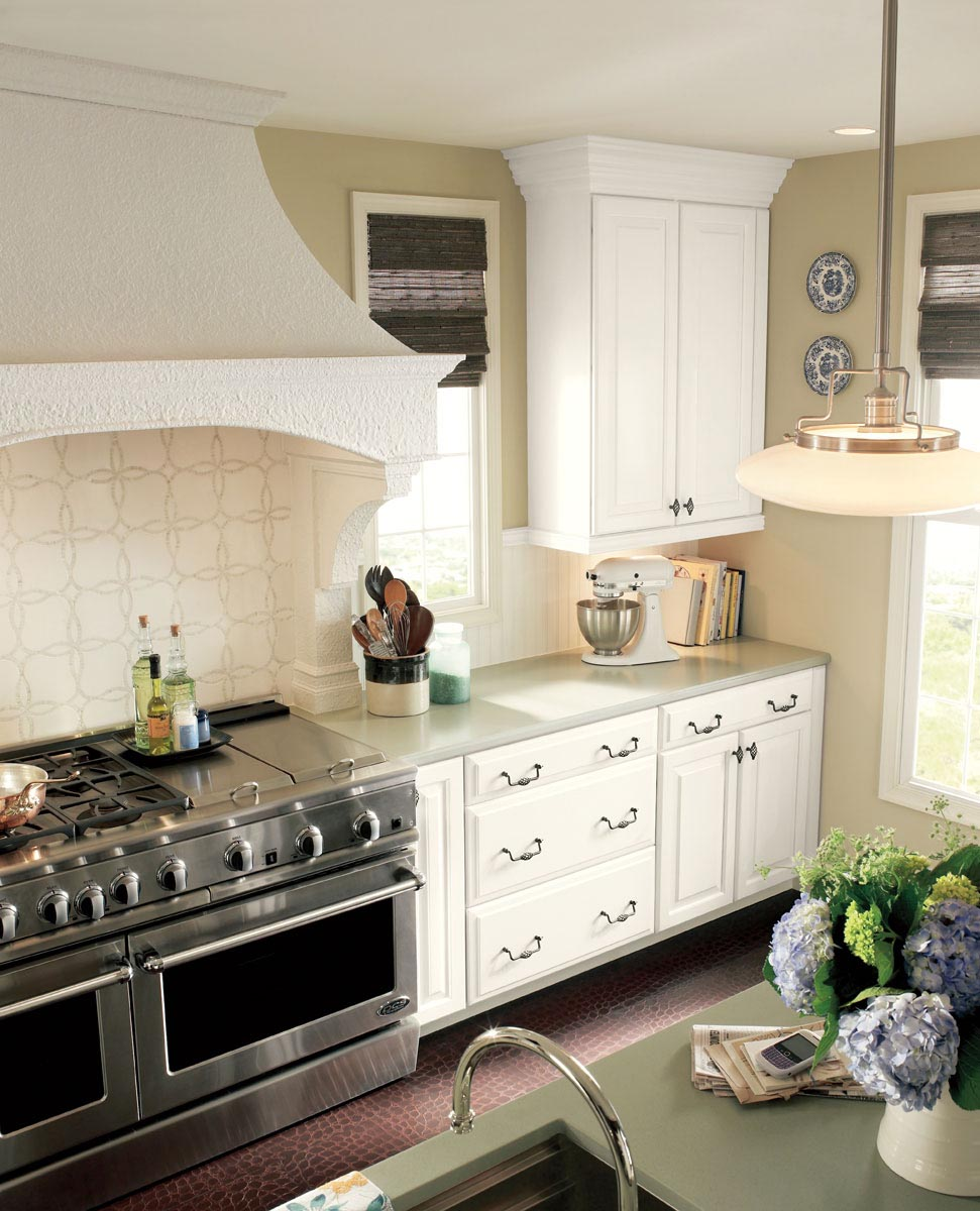 Linen Kitchen Cabinets: Waypoint Living Spaces