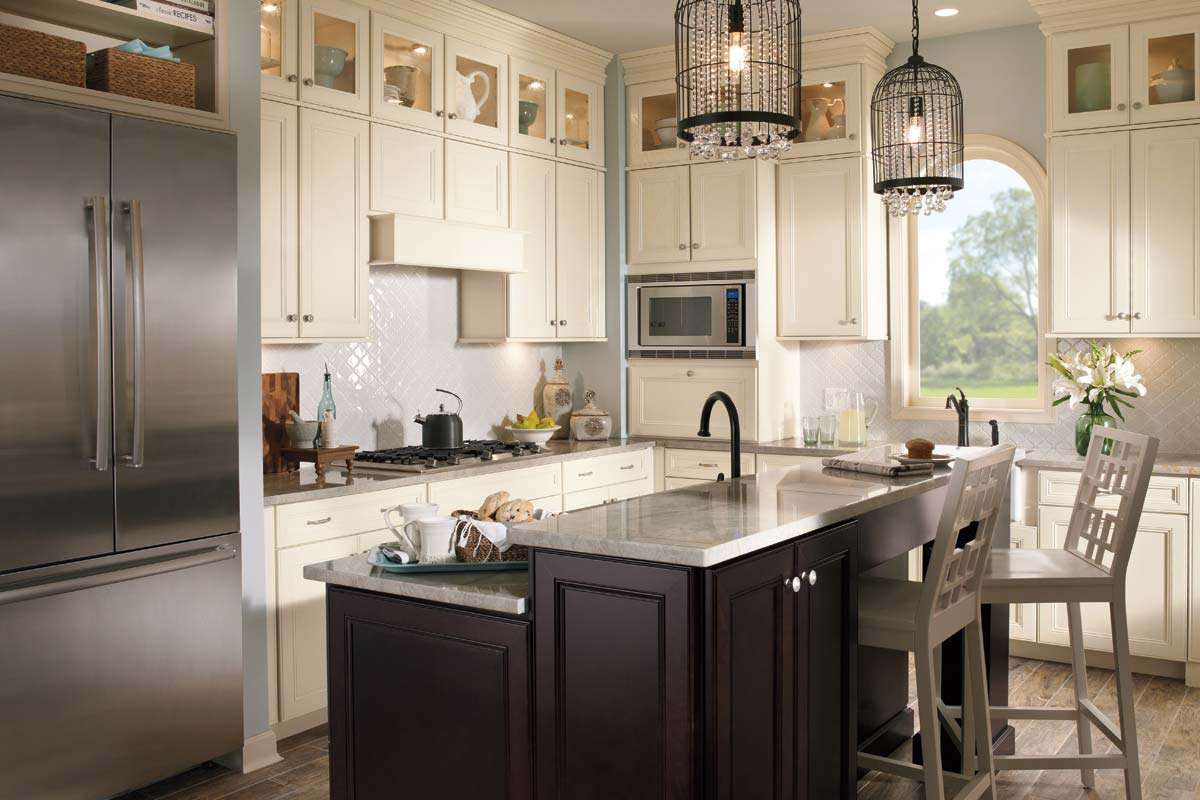 Painted Silk Kitchen Cabinets