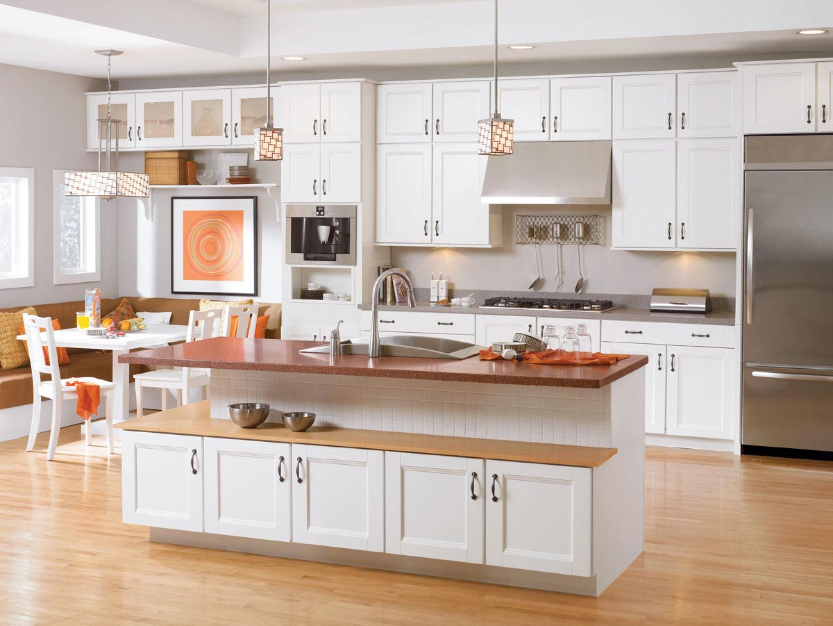 Decorative Kitchen Cabinets Waypoint Living Spaces Exactly What You Had In Mind